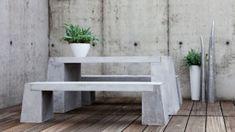beton meuble | Meubles en béton ou sculptures de jardin -