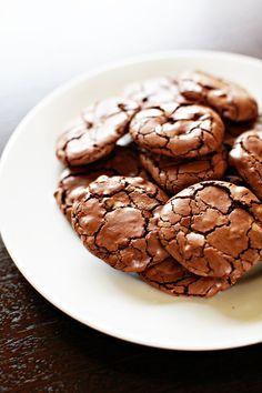 Beautiful blog, and fab cookies.  Greedy Gourmand: Chocolate brownie cookies