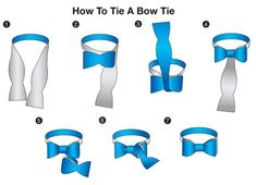 Definitely make sure you know how to tie a bowtie before the big day as it does take some getting used to.