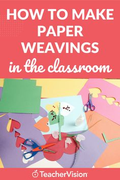 Make a paper weaving craft in your classroom with these step by step instructions! It's the perfect DIY activity for elementary school kids. Spring Activities, Sensory Activities, Educational Activities, Thanksgiving Arts And Crafts, Holiday Crafts, Student Learning, Fun Learning, Paper Weaving, Classroom Crafts