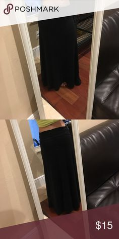 Mossimo maxi skirt Never worn, super soft Mossimo Supply Co Skirts Maxi