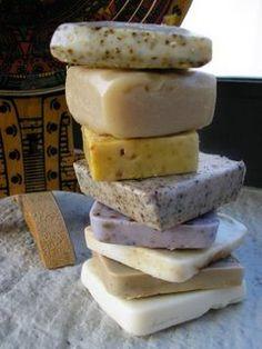 Making handmade soap again...!