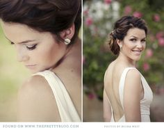 Dreamy gown & low back | Photo: Moira West Photography, Dress: Bride & Co.