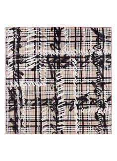 Op zoek naar BURBERRY Check Scribble sjaal van zijde 90 x 90 cm ? Vind je favoriete items bij de Bijenkorf. Vandaag voor 22:00 besteld, morgen gratis thuisbezorgd.