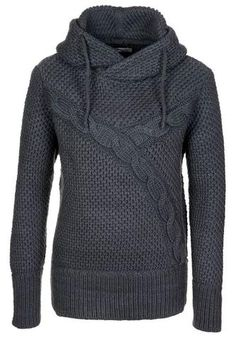 CMP Pullover Knitted in Lana con Scollo A V Maglioni Tricot Uomo