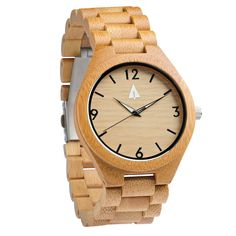 All Wood Watch // All Bamboo Nova from Tree Hut Design