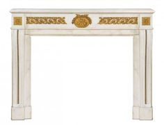 A French Style Gilt Bronze Mounted Marble Mantel, Width : Lot 128