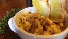 Ricetta pasta e fagioli alla veneta   Pasta with beans, italian recipe