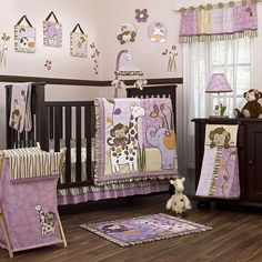 Cocalo baby jacana 8-pc. crib bedding set for Sale