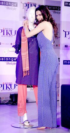 Deepika Padukone promoting her film 'Piku'. #Bollywood #Fashion #Style #Beauty