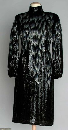Halston Sequin Evening Dress, 1970s, Augusta Auctions, November 13, 2013 - NYC