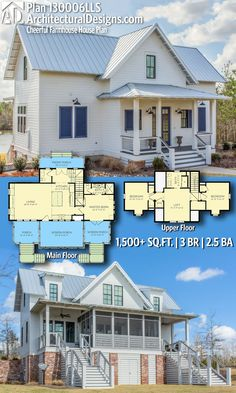 Cheerful Farmhouse House Plan