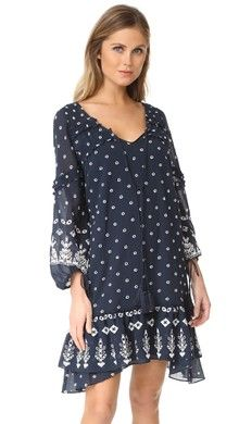 Star Mela Valeska Embroidered Dress   15% off first app purchase with code: 15FORYOU