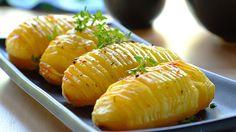 Roast Hasselback Potatoes