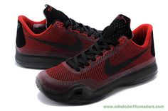 ad6145a6131d Nike Kobe X Red Black Kobe Bryant For Sale Cheap Chaussures All Star
