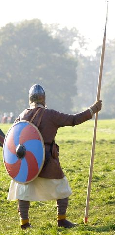 Saxon spearman - The Battle of Hastings