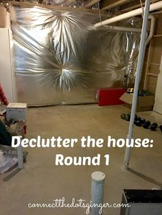 Connect the Dots Ginger | Becky Allen: Declutter The House: Round 1