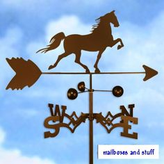 A weather vane so we can tell if the surf is up or not without leaving home! Mermaid Marine, Marine Fish, Powder Coat Paint, Weather Vanes, Horse Gifts, Vintage Horse, Wolf Howling, Outdoor Gardens, French Bulldog