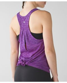 **LOVE IT** Lululemon Salute The Sun Tank (Wait for We Made Too Much/WMTM for price drop hopefully....) Size 8, maybe 6?? Heathered Tender Violet $54.00