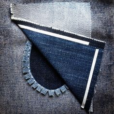 Make a patch to cover a hole in your clothing