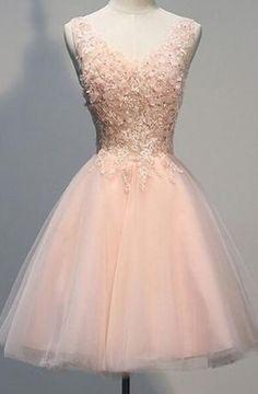 homecoming dress,pink homecoming dress,short homecoming dress by cheeathth