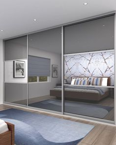 I have a customer wanting to put sliding doors onto her existing wardrobe. these would be ideal. Incorporating the mirror into the panels is not only practical, but reflects the light around the space.