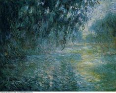 Claude Monet » Morning on the seine in the rain