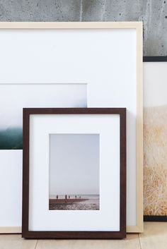 Museum quality, delivered. The @artifactuprsng Deep-Set Frame sets back your photo, mat and plexiglass by one inch. Customizable with your favorite photo.