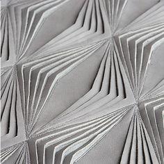 Quand le cuir devient dentelle Tile Patterns, Textures Patterns, Textiles, Design Textile, White Spirit, Make Color, Fabric Manipulation, Material Design, Fabric Art