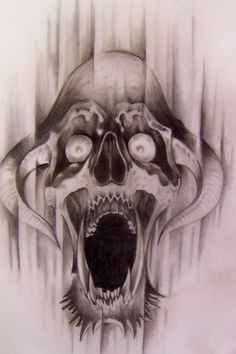 black and white skull tattoo designs crying skull by markfellows tattoo art pinterest. Black Bedroom Furniture Sets. Home Design Ideas