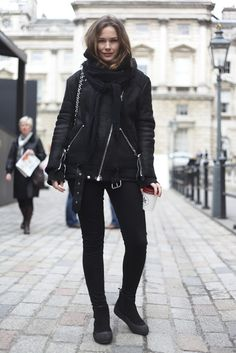 London Fashion by Paul: Street Muses...LFW...Somerset House...Caroline Blomst