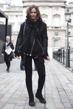 London Fashion by Paul: Street Muses...LFW...Somerset House...Caroline Blomst