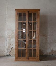 oak glass-case China Cabinet, Storage, Glass, Furniture, Home Decor, Purse Storage, Decoration Home, Chinese Cabinet, Drinkware