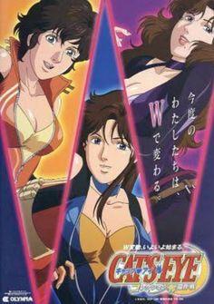 Old Anime, Manga Anime, Anime Art, Illustration Manga, Illustrations, Nicky Larson, Rei Ayanami, Private Eye, City Hunter