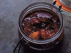 Nigel Slater's Hot, Sweet Plum Chutney | Ripe This would be my jam on a grilled brie sandwich with arugula.