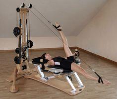 Gyrotonics -- a great form of cross training for dancers! Pilates Studio, Pilates Reformer, Barre Method, Gym Interior, No Equipment Workout, Fitness Equipment, Low Impact Workout, Dream Studio, Life Philosophy