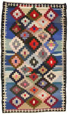 Qashqai - Kilim   klm1976-436   CarpetU2, Kilims with cotton, Summer Sale -60%