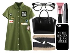 """street style"" by sisaez ❤ liked on Polyvore featuring Kenzo, Givenchy, Casetify and NARS Cosmetics"