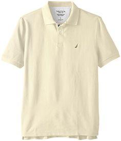 76c6112d Nautica Men's Short-Sleeve Solid Deck… Mega Shopping, Men Shirts, Casual  Shirts