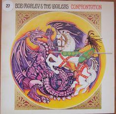 Bob Marley & The Wailers – Confrontation ILPS 9760 A-2U-1 / B-2U-1 Reggae