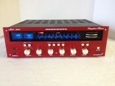 Vintage Marantz 2245 with Prototype Red Faceplate http://www.pinterest.com/0bvuc9ca1gm03at/