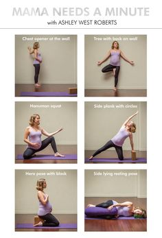 A short yoga sequence for soon to be moms focused on grounding and relaxing prenatal yoga poses with the support of props.