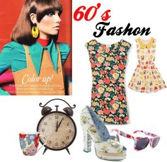 """""""60's Fashon"""" by greenapplejp ❤ liked on Polyvore"""