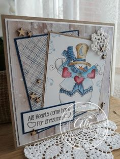 """High Hopes Stamps: August Challenge -- """"My Favourite Things"""""""
