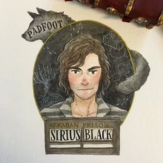 I like to do these portraits in the most seemingly random order, but I just couldn't separate the marauders (except Pettigrew because I hate him) so here is Sirius Black--whom I love so much--and I think it's obvious who it's going to be tomorrow!