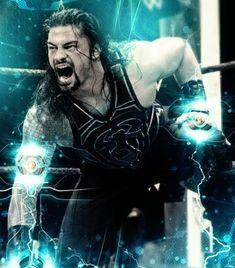 Roman Reigns Wwe Champion, Wwe Superstar Roman Reigns, Wwe Roman Reigns, Wrestling Posters, Wrestling Wwe, Roman Reigns Wrestlemania, Wwe Brock, Roman Regins, Lionel Messi Barcelona