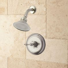"""Windom Shower Set with Classic Lever Handle - 10"""" Arm - Oil Rubbed Bronze"""