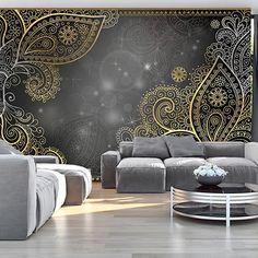 murando - Papier peint intissé 400x280 - Papier peint - Tableaux muraux déco XXL - Ornement f-A-0146-a-b: Amazon.fr: Bricolage