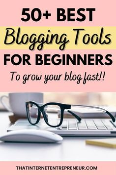 Are you looking for the best blogging tools and resources? Checkout these 50+ blogging tools for beginners to grow your blog. Some these blogging tools are paid, however most of them are free blogging tools and resources. Check it out now! #bloggingtools #bloggingtoolsandresources #bloggingtoolsforbeginners Internet Entrepreneur, Email Service Provider, Online Blog, Blog Topics, Free Blog, Blogging For Beginners, Make Money Blogging, How To Start A Blog, Blog Names