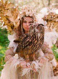 """Athena - Greek goddess of warfare, and patroness of Athens.  Often associated with the owl.  In Homer's epic poem """"the Odyssey,"""" it is Athena who aids Odysseus on his journey home, thus counterbalancing the ill-will of the sea god Poseidon."""